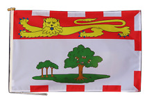 More details for prince edward island canada flag with rope and toggle - various sizes