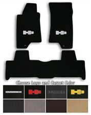 Hummer H3 3pc Classic Loop Carpet Floor Mats - Choose Color & Logo