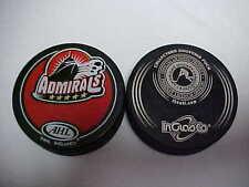 Ahl 2000-2015 Defunct Norfolk Admirals InGlasco Collectors Souvenir Hockey Puck