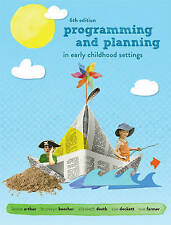 NEW - Programming and Planning in Early Childhood Settings by Arthur (6E + CODE)