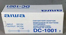 AIWA Car Battery Adapter / Car Charger DC -1001 - Input DC 12V Output: 10V 1.3A