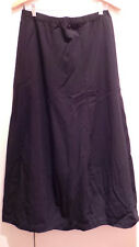 "SHIRIN GUILD lagenlook art-to-wear SKIRT M/L bubble wool waist to 36,56"" hip,hem"