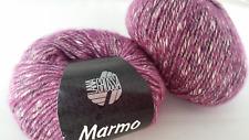700 g Marmo Lana Grossa Fb. 010 beere  RESTPOSTEN  Baumwolle / Wolle / Polyamid