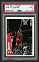 1996 COLLECTOR'S CHOICE ***MICHAEL JORDAN*** #23 BULLS HOF LAST DANCE PSA 9 MINT