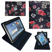 Hülle für Lenovo Tablet E10 LTE Schutz Tasche Tablet Schwarze Blumen