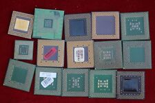 Lot of 15 CPU Hard Drive Chips For Scrap Gold Recovery Pins Intel AMD Pentium K6