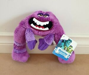 Disney Pixar Monsters University/Inc. – Art 19cm Plush Soft Toy New With Tags