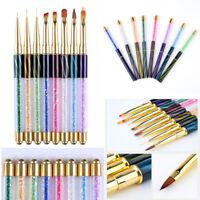Pro Nail Art Painting Drawing Brush Pen Acrylic for UV Gel Manicure Cat Eye