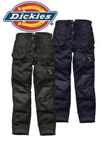 Dickies EH26800 Eisenhower Work Trousers Navy Black 30 to 40 Waist Workwear NEW
