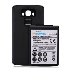 LG G4 Extended Battery 9800mAh Mbuynow Replacement Battery Black Back Cover