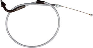1986 - 1987 VS 700 GLEP Intruder Cable, Black Vinyl, Throttle For Suzuki