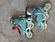Offroad Rollerblades Big Wheel 3 Wheel Inline Skates.New condition. Used 1...