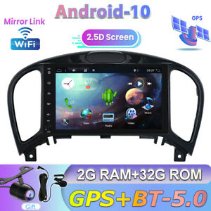 Sat Nav For Nissan Juke J15 2012-2019 Android 10 Car Stereo GPS WIFI BT Car Play
