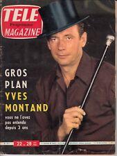 Télé Magazine   YVES MONTAND 313/1961