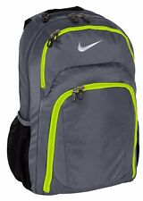 "Nike Golf Performance 17"" Laptop / MacBook Pro Black Backpack /Daypack Gray  New"