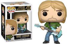 Nirvana Funko POP! Rocks Kurt Cobain Vinyl Figure #65 [Blue Guitar, Teen Spirit]