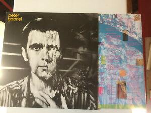 Peter GABRIEL 3ème Album 33T - Intruder Comme neuf