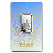 10 gram Silver Bar - PAMP Suisse Religious Series (Buddha)