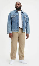 Levi's Men's 559 Relaxed Straight Jeans Size 52 x 34 NWT Timberwolf Khaki Wash