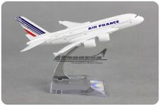 Solid AIR FRANCE AIRBUS A380 Passenger Airplane Plane Metal Diecast Model