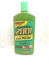 Rare NOS Turtle Wax Finish 2001 Urethane Enriched Wax Car Polish 20oz USA 2002