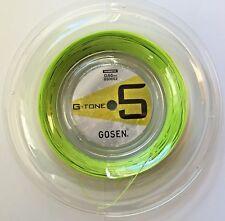 Gosen Badminton string G-Tone 5, 0,65 mm, Reel 200M, Lime Green