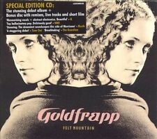 Felt Mountain [Bonus Disc] by Goldfrapp (2CD,2001,Mute) - RARE - SYDNEY SELLER