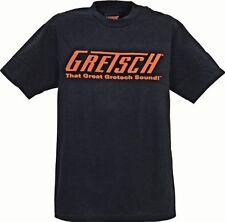GREAT GRETSCH SOUND LOGO GUITAR T-SHIRT 2XL XX LARGE XXL 100% Cotton