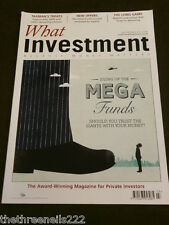 WHAT INVESTMENT #348 - THE LONG GAME - MARCH 2012