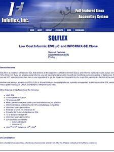 SQLflex Linux development license (Informix Clone & unlimited users per machine)