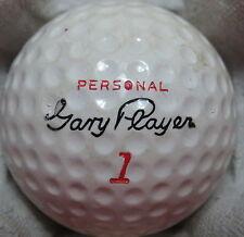 (1) GARY PLAYER SIGNATURE LOGO GOLF BALL (PLYMOUTH - PERSONAL CIR 1968) #1