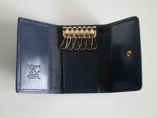 VAN CLEEF & ARPELS - Schlüsseletui aus Leder - in dunkelblau