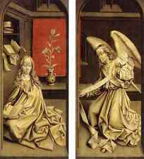 Weyden Bladelin Triptych 5 Exterior A4 Print