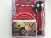 Siphon Fuel Transfer Pump Kit Manual Oil Petrol Diesel Fuel Pump For Car Truck