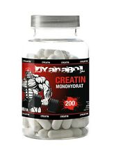 Dyanabol Kreatin Monohydrat 200 Kapseln ATP Muskelaufbau Extrem schnell aufbau