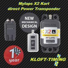 MYLAPS x2 Kart Transpondeur Incl. 1 année fonction directement Power incl. Zub. Nouveau