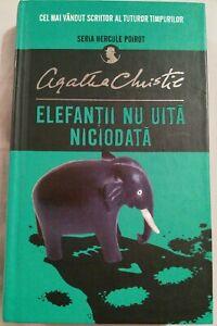 Elefantii nu uita niciodata de Agatha Christie Book in Romanian