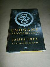 James Frey, Endgame - Le regole del gioco, Editrice Nord - 1^ ed. 2016