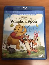 The Many Adventures of Winnie the Pooh (Blu-ray/DVD, 2013, 2-Disc Set)