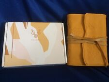 VALERY Vintage PU Leather Journal/Bound Writing Notebook 6.7 x 4.7 Inch. Boxed