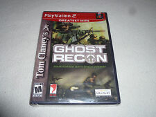 BRAND NEW FACTORY SEALED PLAYSTATION 2 TOM CLANCY'S GHOST RECON GAME PS2 NFS