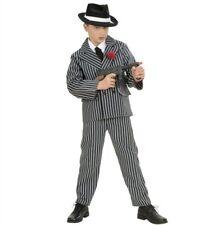 Costume gangster per bambino completo gessato