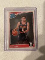 2018-19 Donruss Optic Trae Young Rated Rookie Card #198 RC Atlanta Hawks