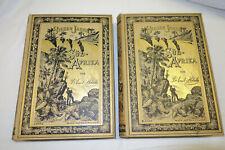 PE33: Sieben Jahre Afrika Holub 1881 2 Bände Prachtausgabe Original