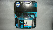 Genuine HP 60 Tri-Color Ink Sealed - FREE SHIPPING!