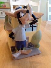 DAMAGED Disney Goofy Canister House Ceramic Kitchen Decor Container Jar