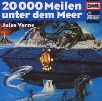 JULES VERNE - 20.000 MEILEN UNTER DEM MEER - EUROPA-HÖRSPIEL  CD NEU