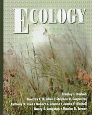 Ecology by Anthony R. Ives, Stephen R. Carpenter, Nancy E. Langston, Stanley I.…