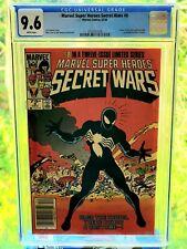 MAKE OFFER Marvel Secret Wars #8 Spiderman Cover CGC 9.6 Rare Newsstand Edition