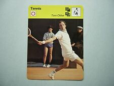 1977 1977/79 SPORTSCASTER TENNIS PHOTO TOM OKKER THE FLYING DUTCHMAN NICE!!